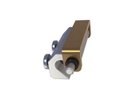 MG04.1.1 Петля потайная с панелью под сварку, отбортовка двери 24мм