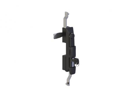 KI62.2/35.DD.CC.M Замок панельный полиамидный с ключом и механизмом для тяг