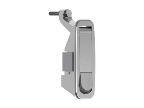 KP07.00.1.2/5.46 Замок панельный с металлической ручкой без ключа h=24-46mm